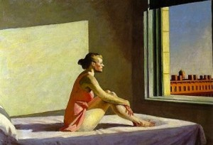 Edward Hopper - la solitudine del mattino