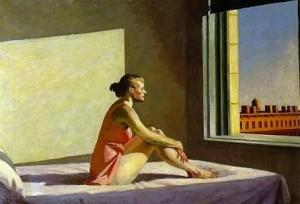 Edward Hopper - la solitudine del mattino